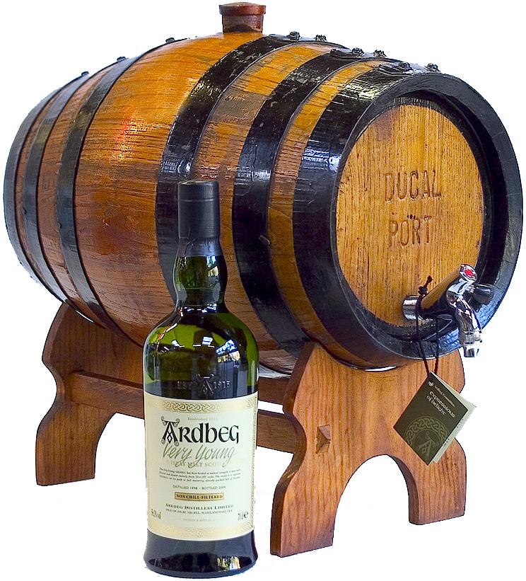 Lege whiskyvaten for Een doosje vol geluk waar te koop